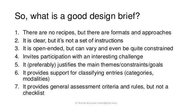 logo design brief examples pdf