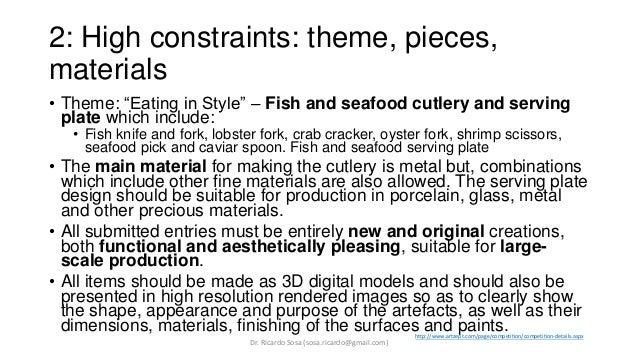 Examples of Design Briefs Slide 3