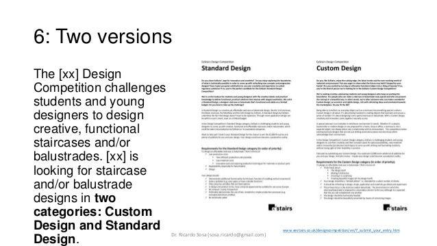 fashion design brief example