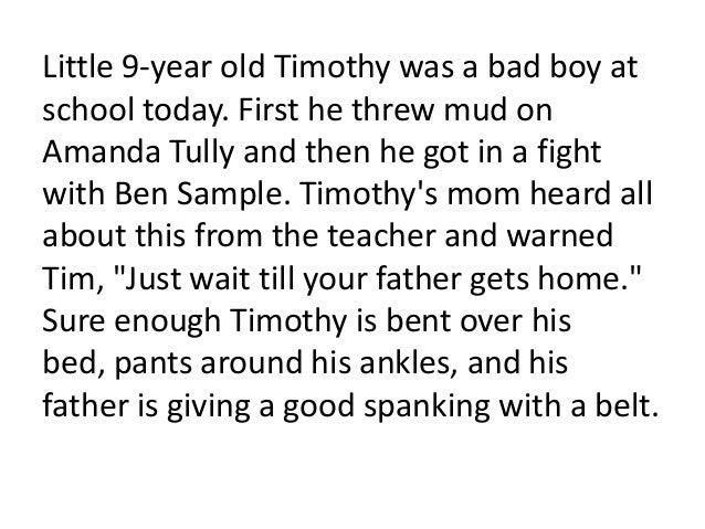 examples of bad behaviour in school
