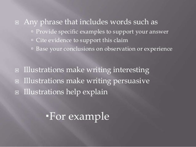 illustration definition essay examples