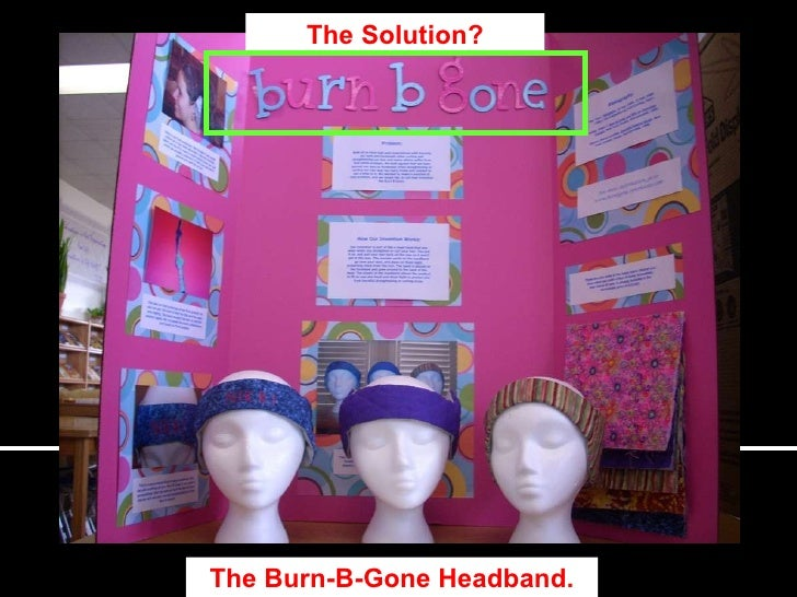 the solution the burn b gone headband
