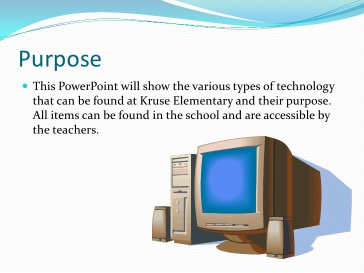 Examples Of Technology In An Elementary School