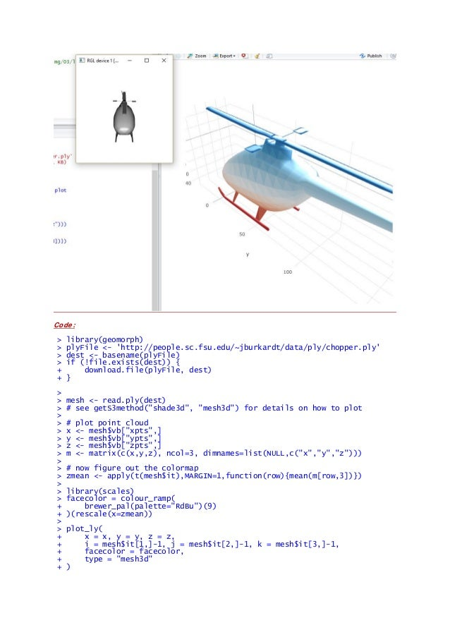 Some R Examples[R table and Graphics] -Advanced Data Visualization in…