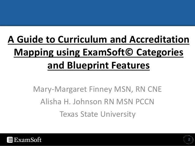 A guide to curriculum and accreditation mapping using examsoft catego 2 malvernweather Image collections