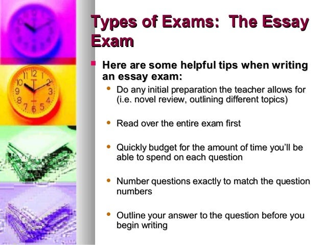essay for exam An essay has been defined in a variety of ways one definition is a prose composition with a focused subject of discussion or a long, systematic discourse.