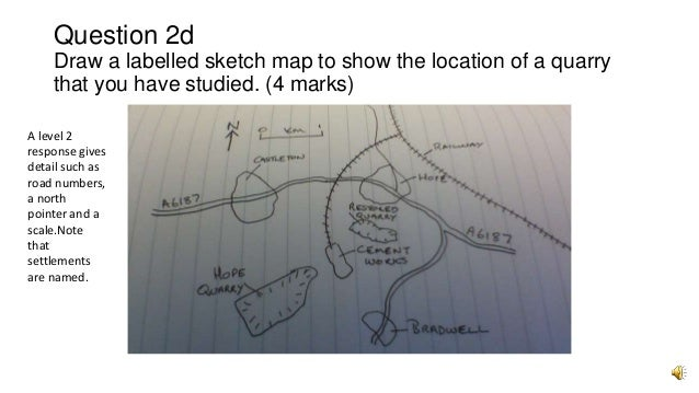 how to draw a sketch map