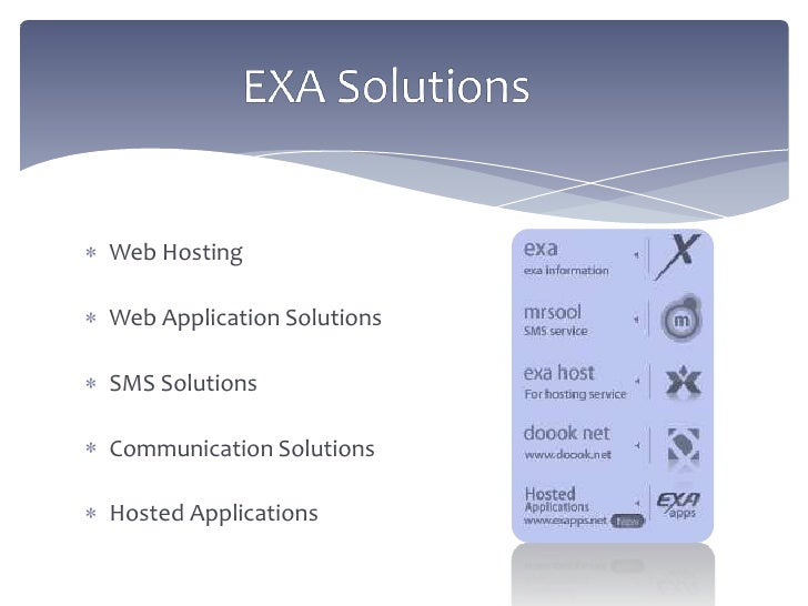 Hosted Application
