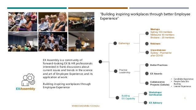 Ex Assembly - Employee Wellness Programs – Can they Perform in the Spotlight? Slide 3