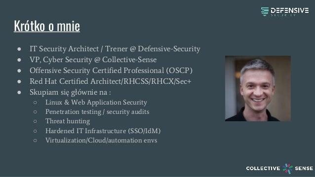 Exatel Security Days 2017 - Niech dane pozostaną z Tobą! Sieciowe techniki eksfiltracji danych. Slide 2