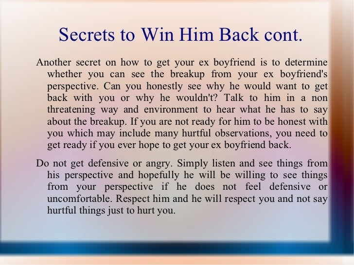 how to win your man back relationship