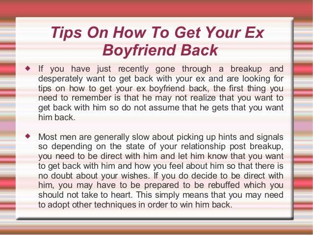 first boyfriend tips