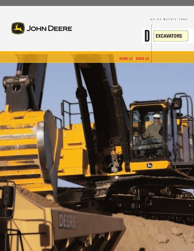 Excavators John Deere