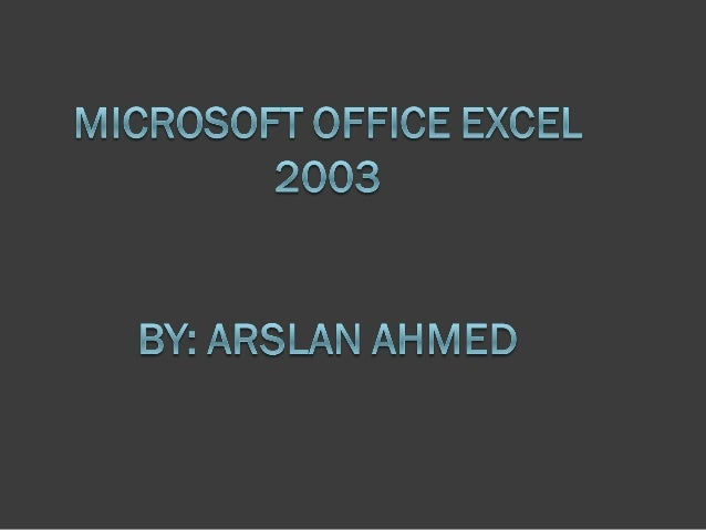 Identify major components of the Excel window  Excel is a computerized spreadsheet, which is an important business tool t...