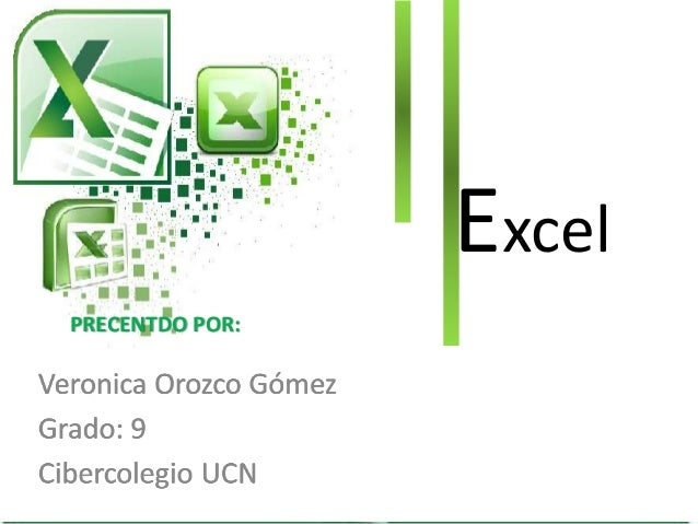 Excel PRECENTDO POR: