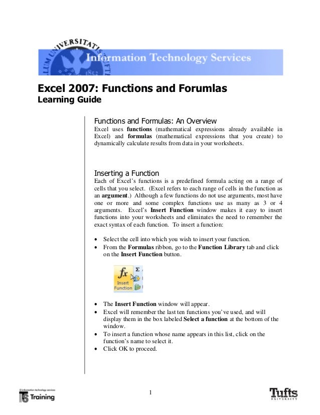 how to use if function in excel 2007