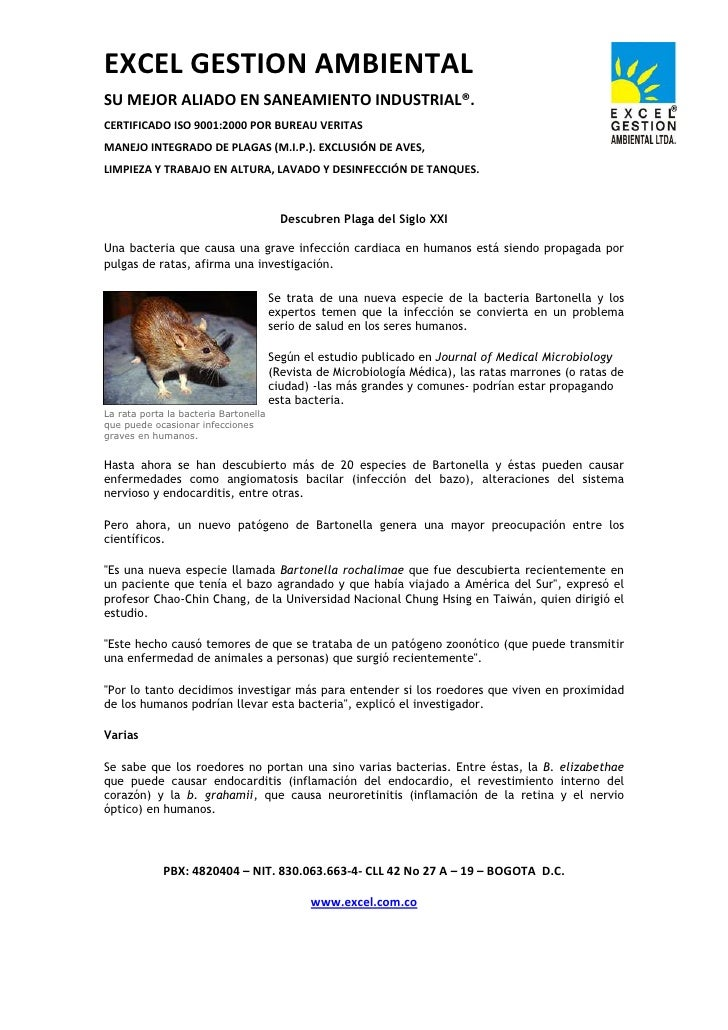 EXCEL GESTION AMBIENTAL SU MEJOR ALIADO EN SANEAMIENTO INDUSTRIAL®. CERTIFICADO ISO 9001:2000 POR BUREAU VERITAS MANEJO IN...
