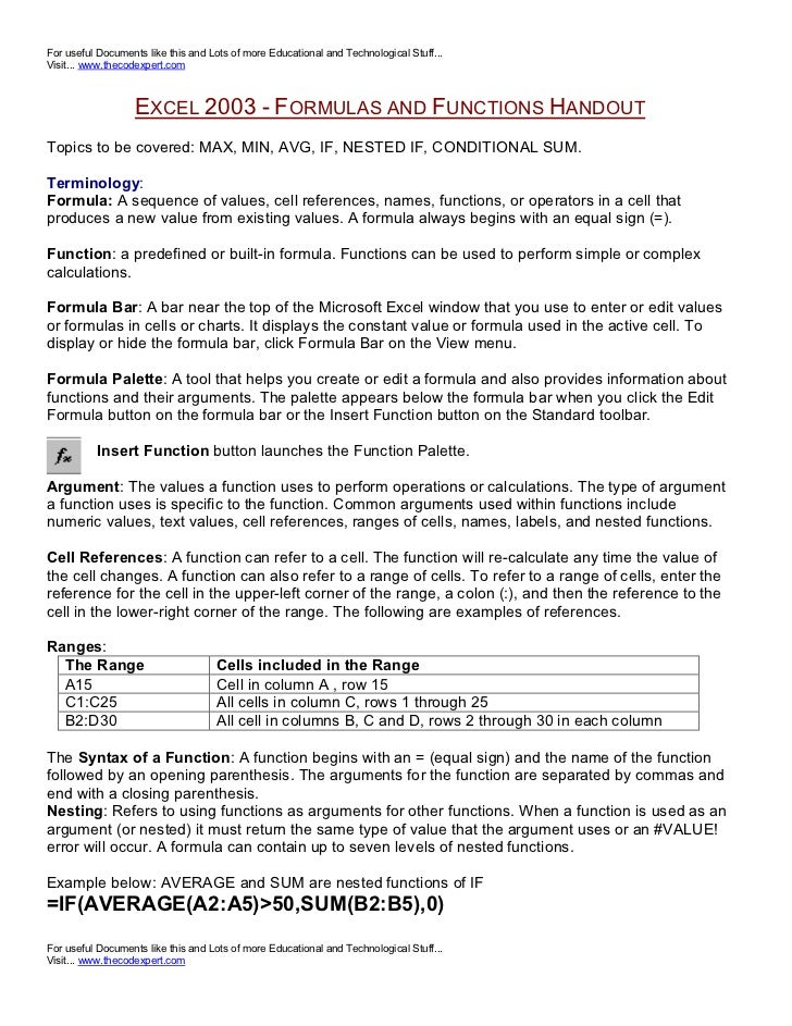 For useful Documents like this and Lots of more Educational and Technological Stuff... Visit... www.thecodexpert.com      ...