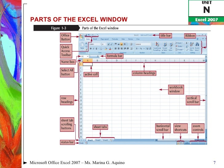 Excel 2007 for inset final copy