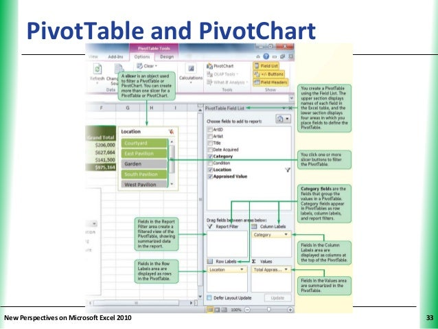 tutorial 5 excel tables pivottables and pivot charts