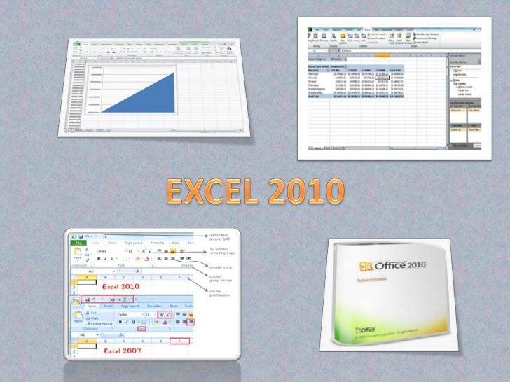 EXCEL 2010<br />
