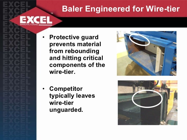 Baler Wire Tie System : Excel balers difference r series