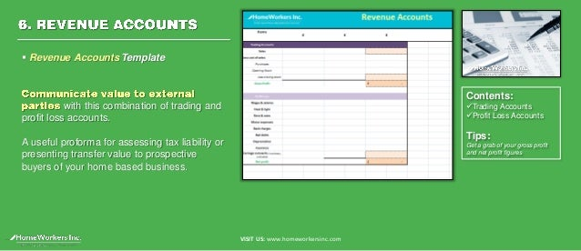Home Business Bookkeeping Template