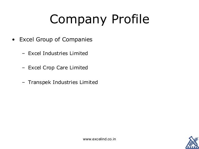 Excel industries jobs