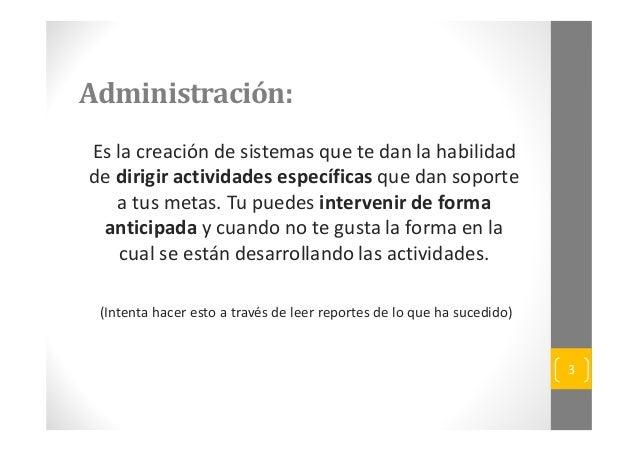 Excelencia en la Administracion Comercial Slide 3