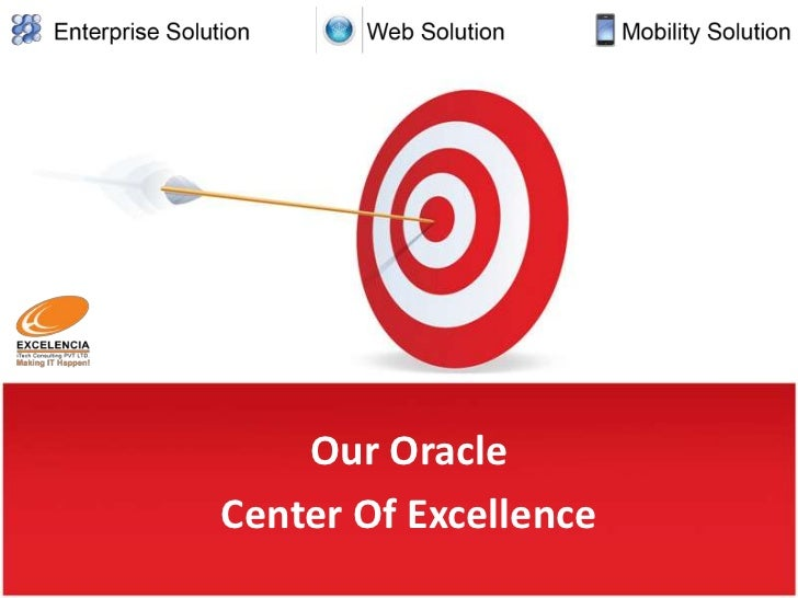 Our OracleCenter Of Excellence