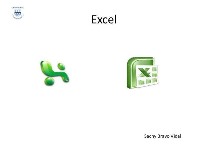 Excel        Sachy Bravo Vidal