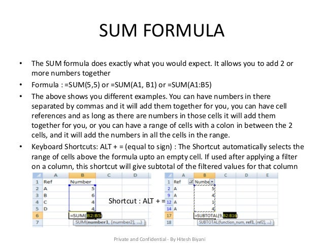 10 excel formulas that will help you in any job
