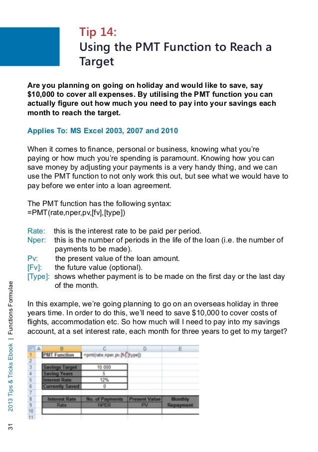 Download Using Pmt Function In Excel Gantt Chart Excel