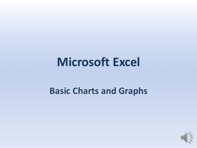 Microsoft ExcelBasic Charts and Graphs
