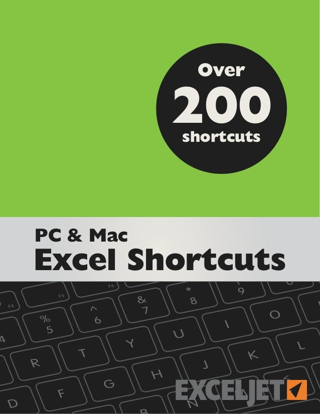 Exceljet excel shortcuts_150330