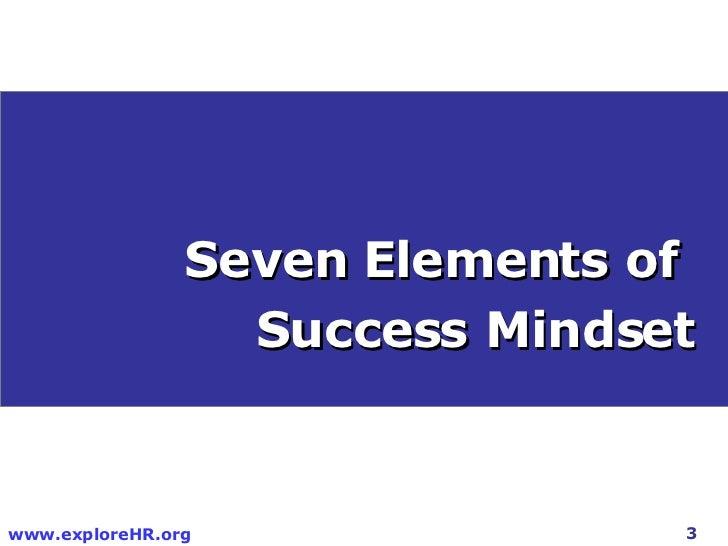 Success Mindset Slide 3