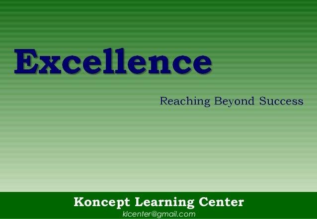 Koncept Learning Centerklcenter@gmail.com