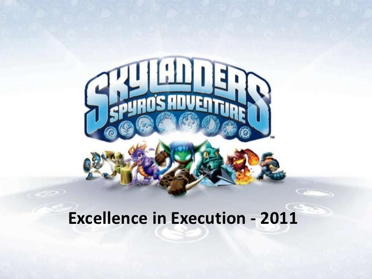 Excellence in Execution - 2011