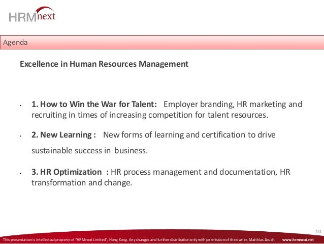 Sustainable Talent Management