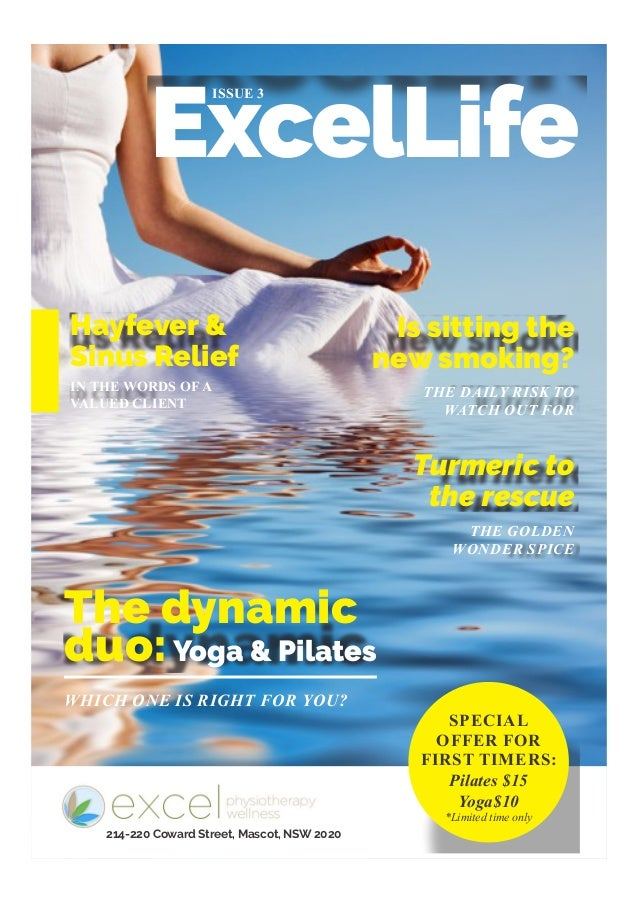ExcelLife ISSUE 3 IN THE WORDS OF A VALUED CLIENT WHICH ONE IS RIGHT FOR YOU? THE DAILY RISK TO WATCH OUT FOR THE GOLDEN W...