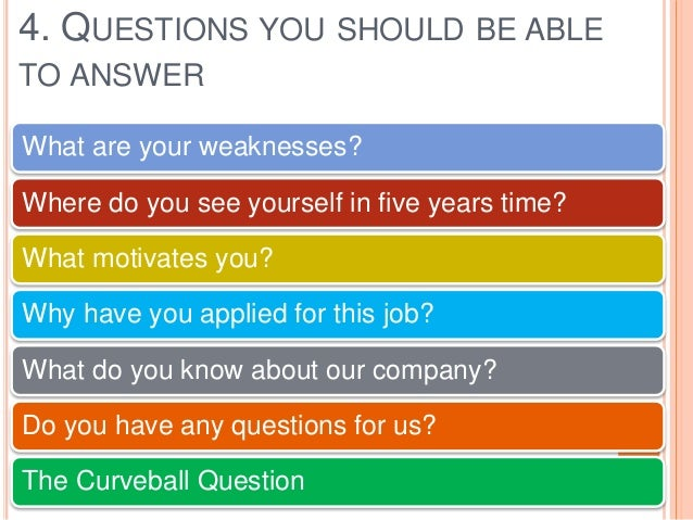 Excelling Interview Skills