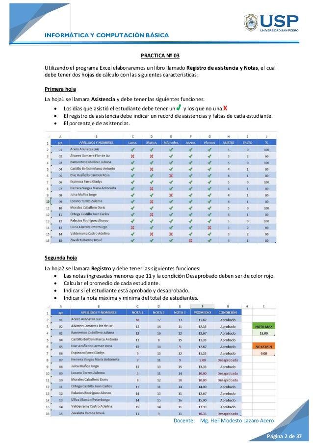 Excel: Función SI - CONTAR.SI Slide 3