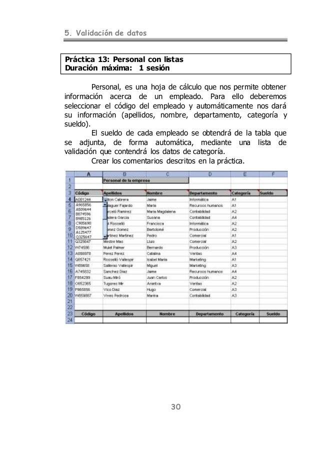 Excel practica 3