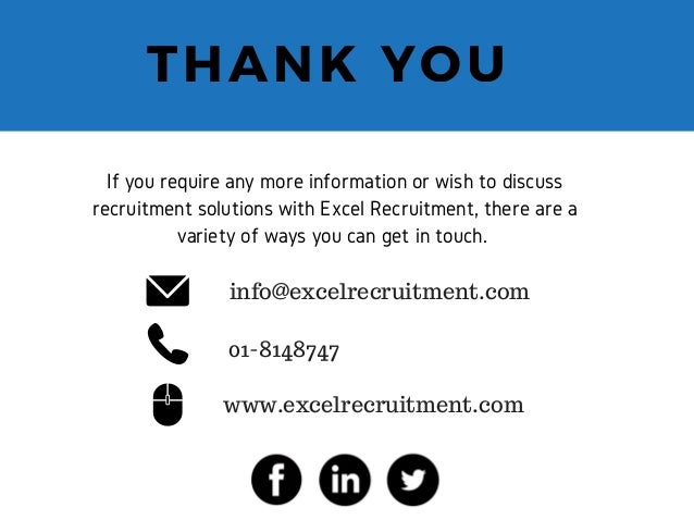 Excel Recruitment The Retail Recruitment Company