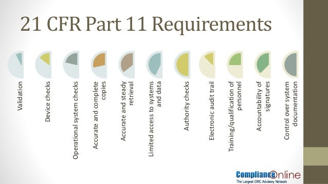 Excel Spreadsheets How To Ensure 21 Cfr Part 11 Compliance