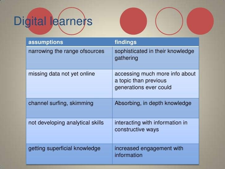 Digital learners<br />