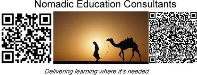 Nomadic Education Consultant     De/ /ver/ ng / ear/7/ng w/7ere / tis' needed