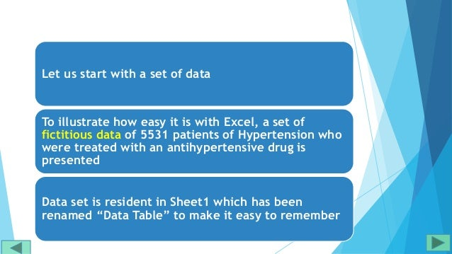 Excel tutorial for frequency distribution Slide 3