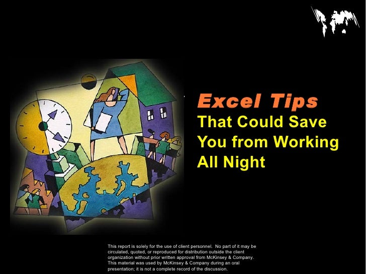 Excel Tips   That Could Save You from Working All Night