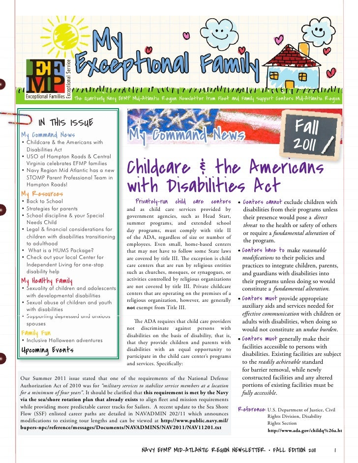 IN THIS ISSUE                                                 My Command News      FallMy Command News• Childcare & the Am...